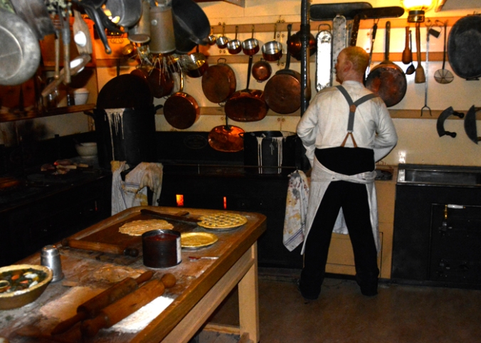 bristol ss Great Britain kitchen small