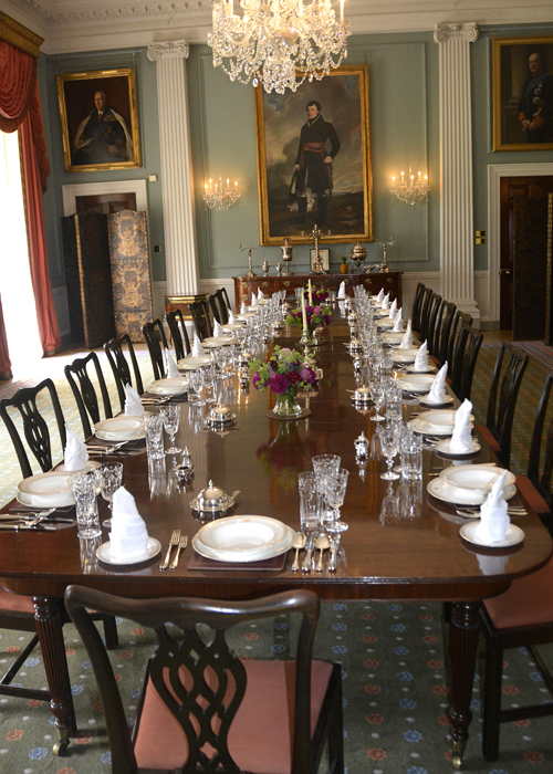 Hillsborough castle diningroom net